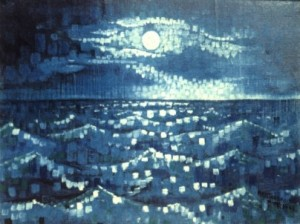 Moonlit sea medium 1