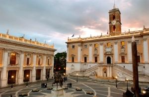 The Campidoglio - seat of the Municipality of Rome